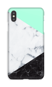 Mint Marmer  hoesje IPhone XS Max