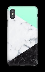 Marmor og Pastell deksel IPhone XS