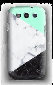 Mint Marmer  hoesje Galaxy S3