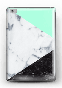 Mint Marmer  hoesje IPad mini 2