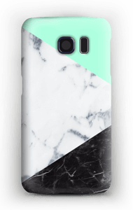 Mint Marmer  hoesje Galaxy S6