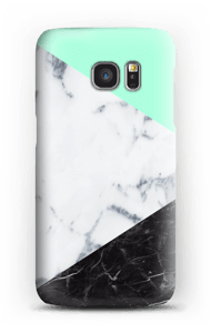 A perfect combination of both marble and pastels for your case, make it custom by adding your logo.