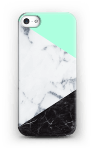 Mint Marmer  hoesje IPhone SE