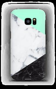 Mint Marmer  hoesje Galaxy S7 Edge