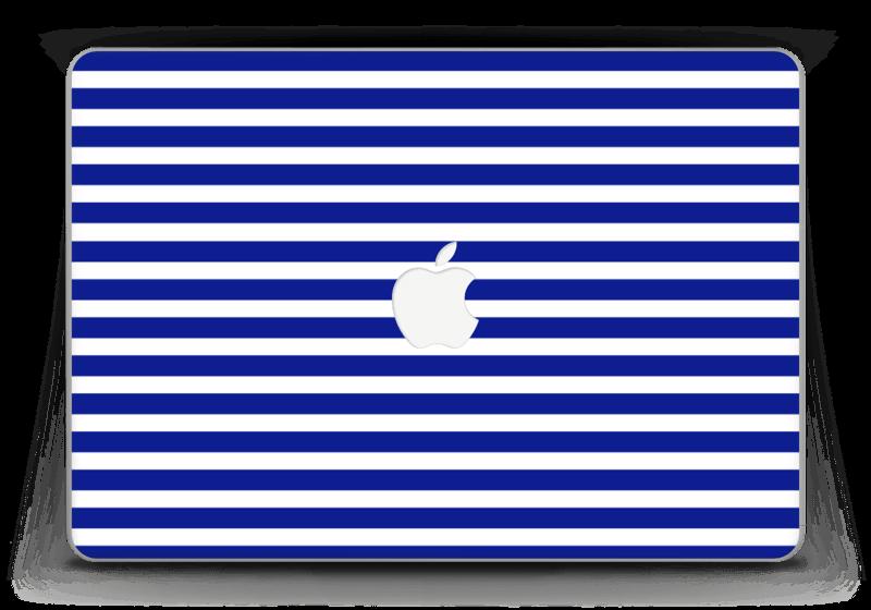 """Rayures marines Skin MacBook Pro Retina 13"""" 2015"""