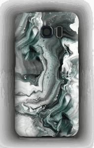 Grijs patroon hoesje Galaxy S6