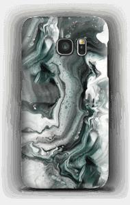 Grijs patroon hoesje Galaxy S7