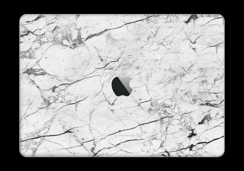 """Hvit klassisk marmor Skin MacBook Pro 13"""" 2016-"""