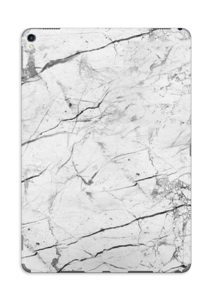 White marble skin for your IPad Pro 10.5, make it custom by adding your name or logo