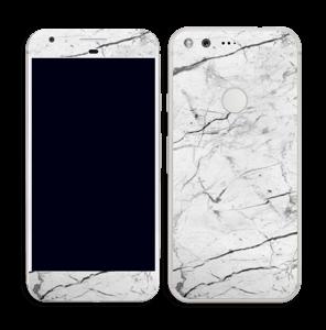 Hvit klassisk marmor Skin Pixel
