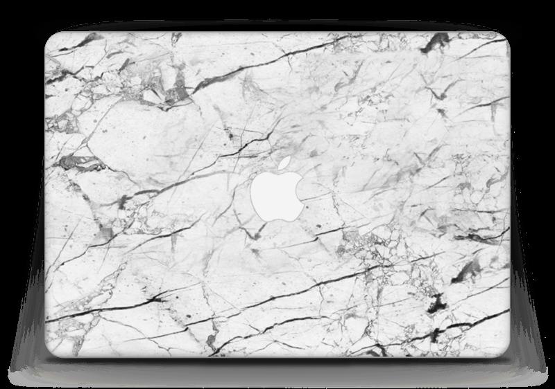 """Hvit klassisk marmor Skin MacBook Air 13"""""""