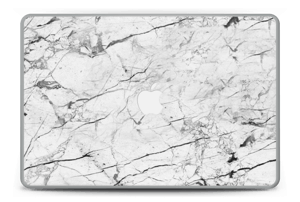 "White marble skin for your MacBook Pro 15"" -2015, make it custom by adding your name or logo"