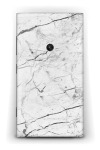White marble skin for your Nokia Lumia 920, make it custom by adding your name or logo