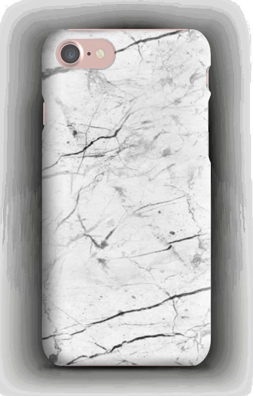Perfekt hvit marmor deksel IPhone 7