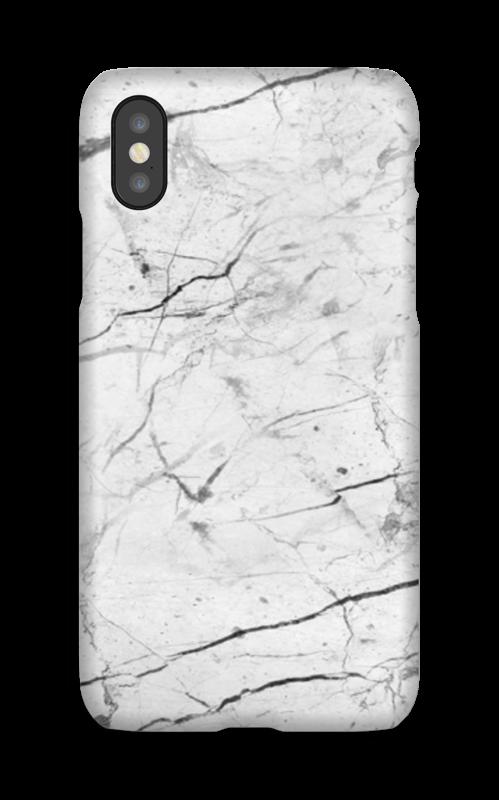 Perfekt hvit marmor deksel IPhone X