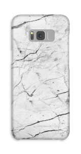 Perfect wit hoesje Galaxy S8 Plus