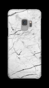 Mármore branco Capa Galaxy S9