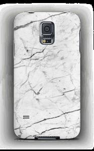 Mármore branco Capa Galaxy S5