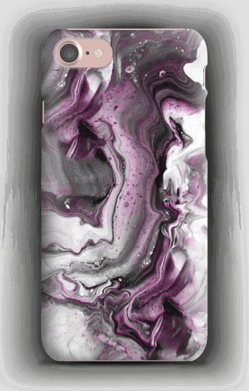 Lilla fargestrøm  deksel IPhone 7