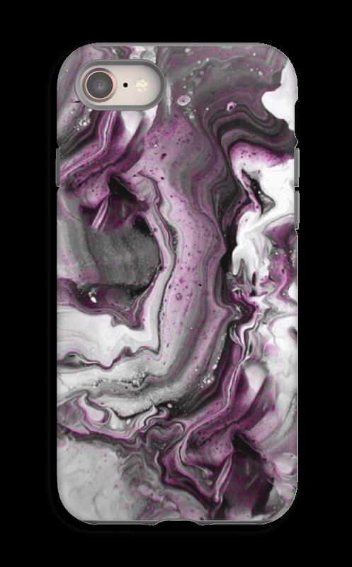 Violetti villitys kuoret IPhone 8 tough