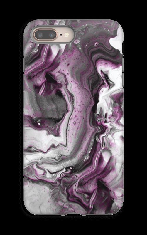 Violetti villitys kuoret IPhone 8 Plus tough