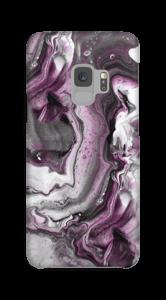 Paars patroon hoesje Galaxy S9