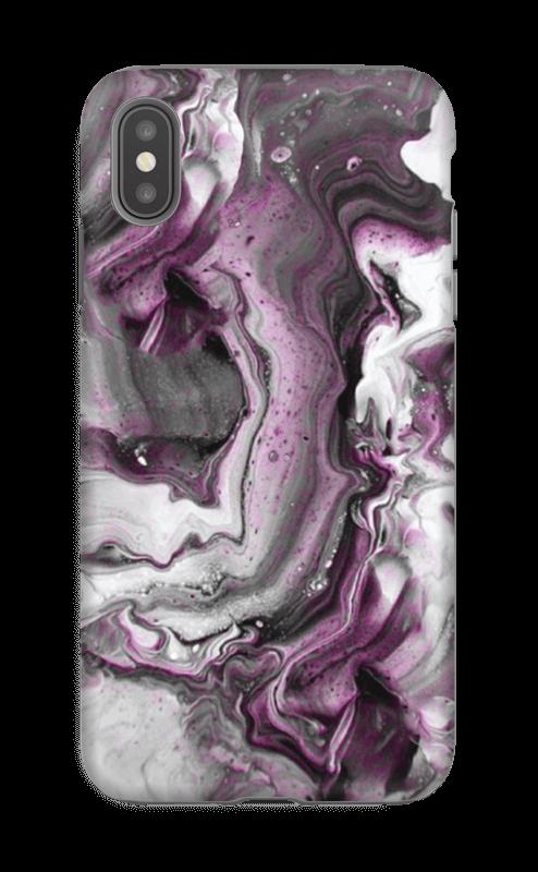 Violetti villitys kuoret IPhone XS Max tough