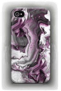 Lilla fargestrøm  deksel IPhone 4/4s