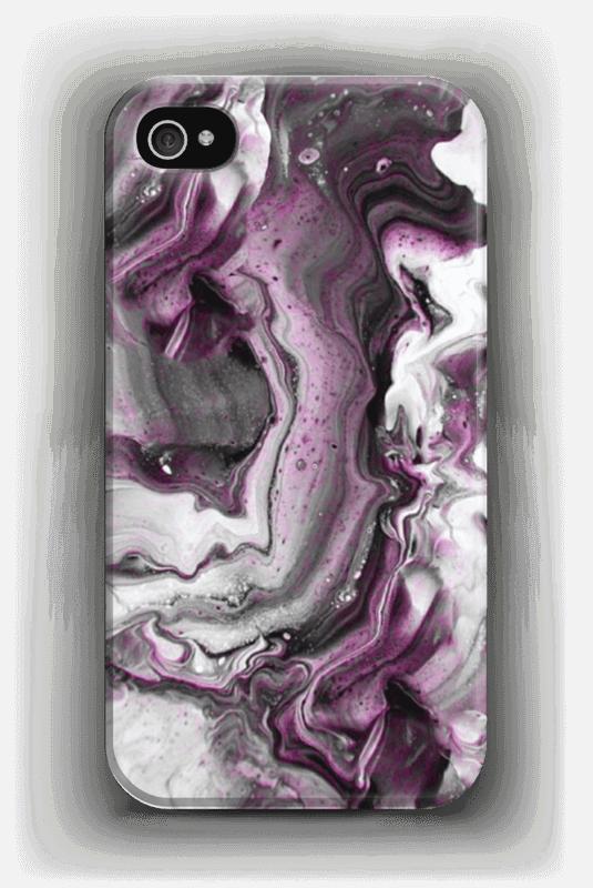 Violetti villitys kuoret IPhone 4/4s