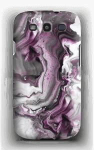 Paars patroon hoesje Galaxy S3
