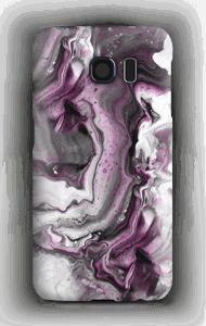 Paars patroon hoesje Galaxy S6