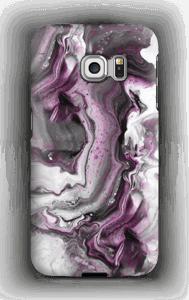 Padrão Roxo Capa Galaxy S6 Edge