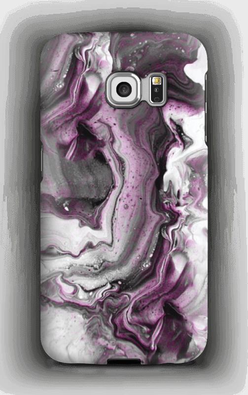 Violetti villitys kuoret Galaxy S6 Edge