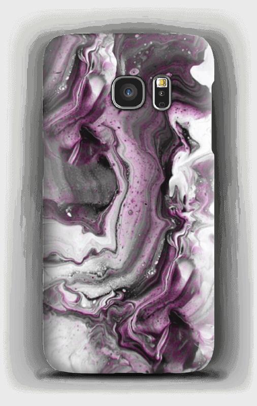 Violetti villitys kuoret Galaxy S7