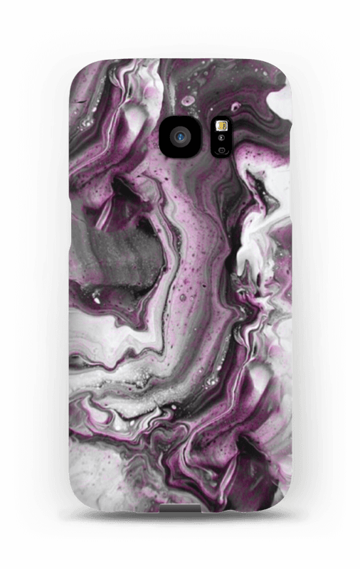 Violetti villitys kuoret Galaxy S7 Edge