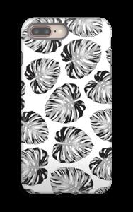Tuunattavat lehdet kuoret IPhone 8 Plus tough