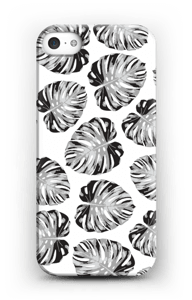 Jungle bladeren hoesje IPhone SE