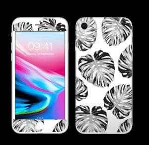 Egen tilpasset blad i farger Skin IPhone 8