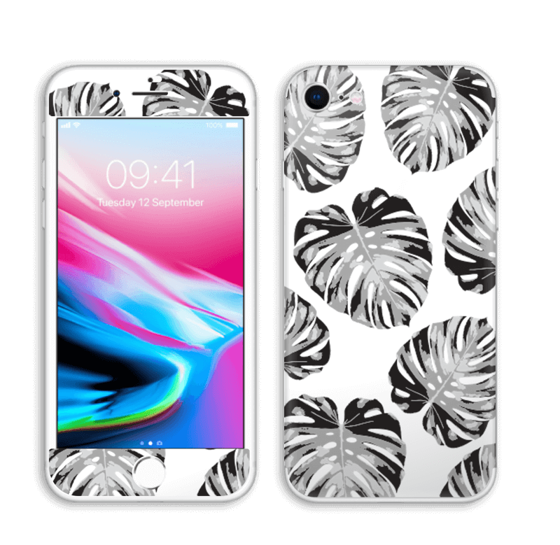 Feuillage exotique Skin IPhone 8