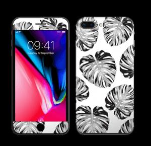 Egen tilpasset blad i farger Skin IPhone 8 Plus