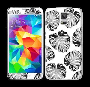 Egen tilpasset blad i farger Skin Galaxy S5
