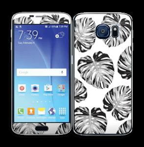Egen tilpasset blad i farger Skin Galaxy S6