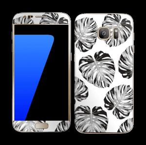 Egen tilpasset blad i farger Skin Galaxy S7