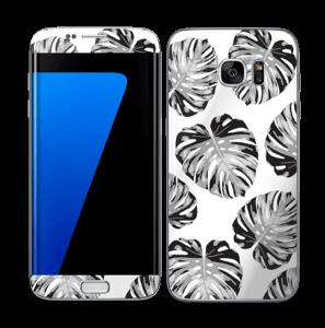 Egen tilpasset blad i farger Skin Galaxy S7 Edge