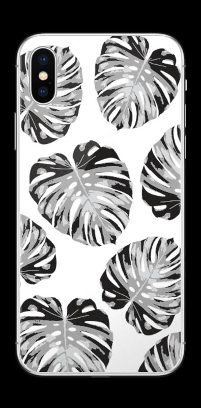 Feuillage exotique Skin IPhone X