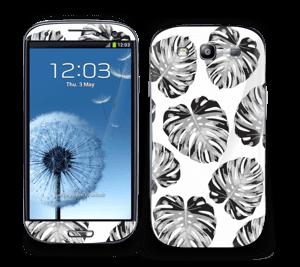 Egen tilpasset blad i farger Skin Galaxy S3