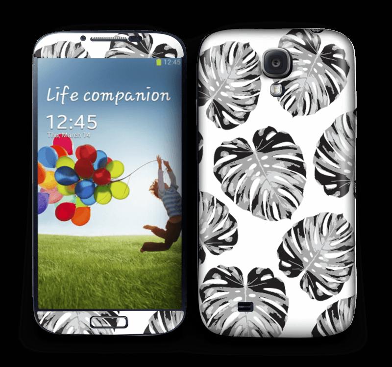 Egen tilpasset blad i farger Skin Galaxy S4