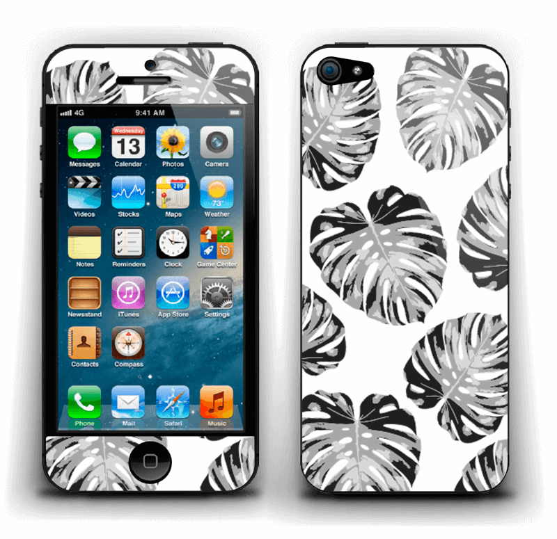 Feuillage exotique Skin IPhone 5