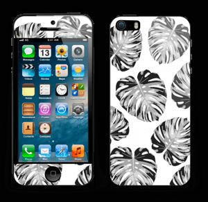 Custom Color Leaves Skin IPhone 5s