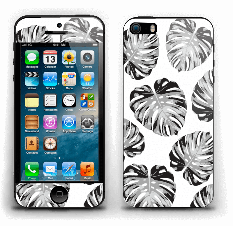 Feuillage exotique Skin IPhone 5s